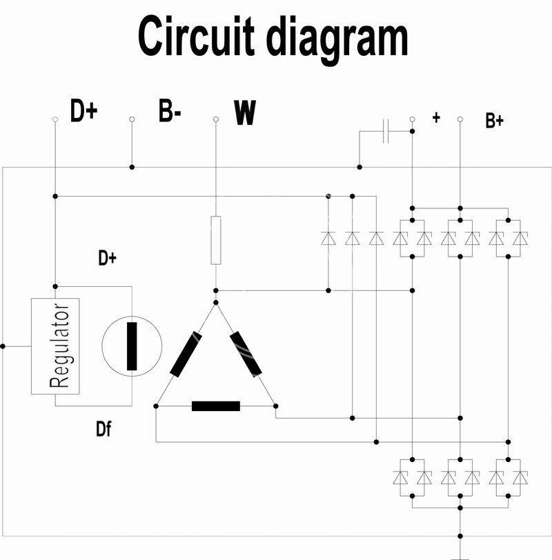 Delco Remy Voltage Regulator Wiring Diagram
