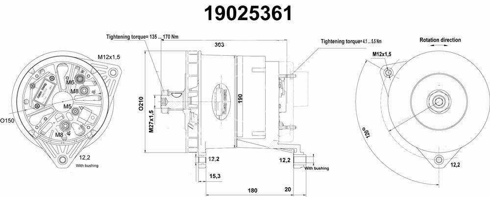 Delco Remy Lichtmaschine Schaltplan - Wiring Diagram