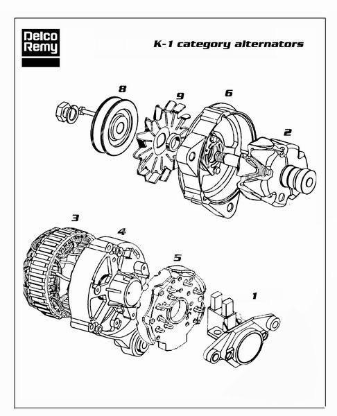 Alternator Bosch 0120489643 And Its Equivalences