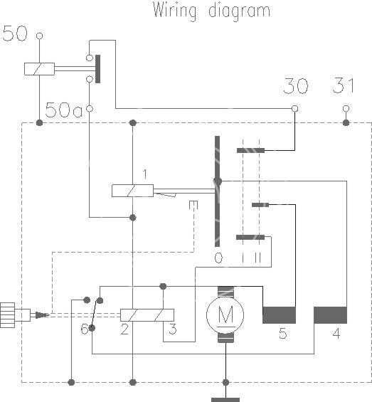 Delco Solenoid Wiring Diagram