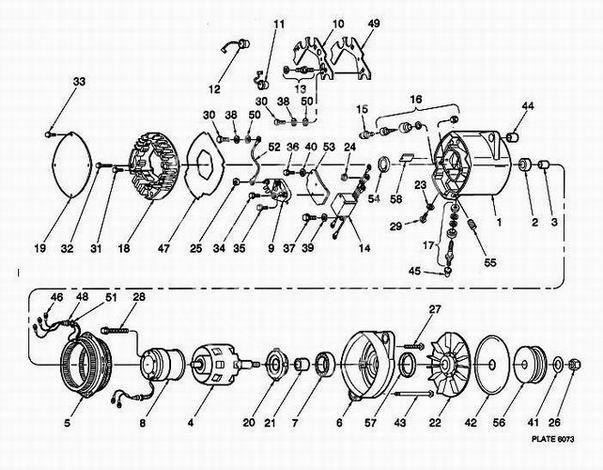 Alternator DELCO-REMY 19010001