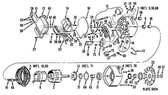 Alternator DELCO-REMY 1117801