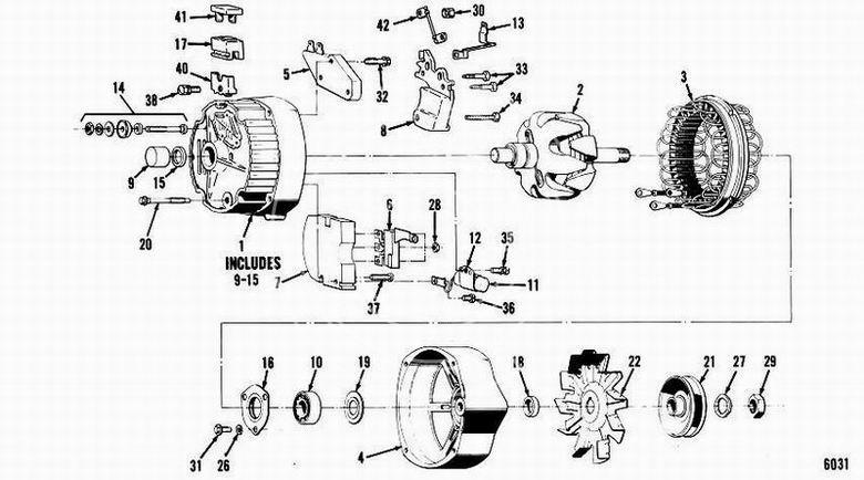 Alternator DELCO-REMY 93059