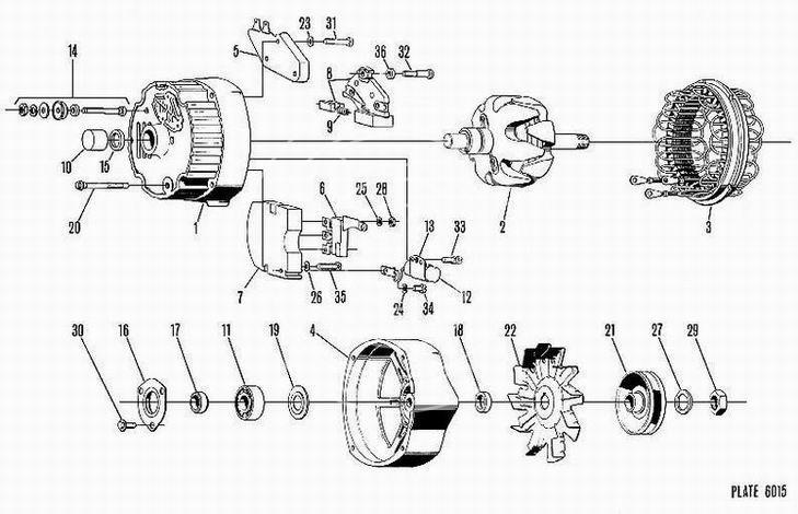 Alternator DELCO-REMY 1105477
