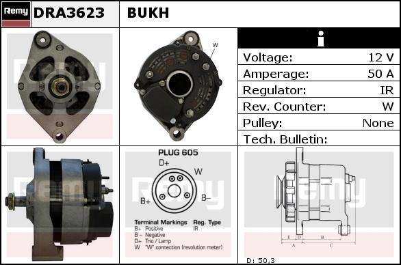 Alternator VALEO 518039