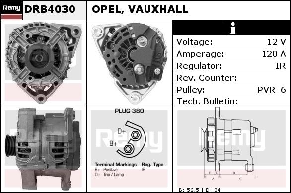 16G213 ALTERNATOR Regulator OPEL Astra F G H 1.3 1.4 1.6 1.8 2.0 CDTI Di DTI i
