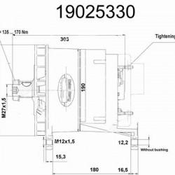 Alternator DELCO-REMY 19025330 and its equivalences on magneti marelli alternator wiring, mando alternator wiring, sev marchal alternator wiring, chevy 3 wire alternator wiring, leece neville alternator wiring, delco remy alternator wiring, valeo alternator wiring, sbc alternator wiring, nippon denso alternator wiring,